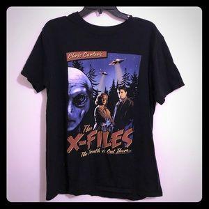 Tops - X-Files Retro Movie Files T-Shirt